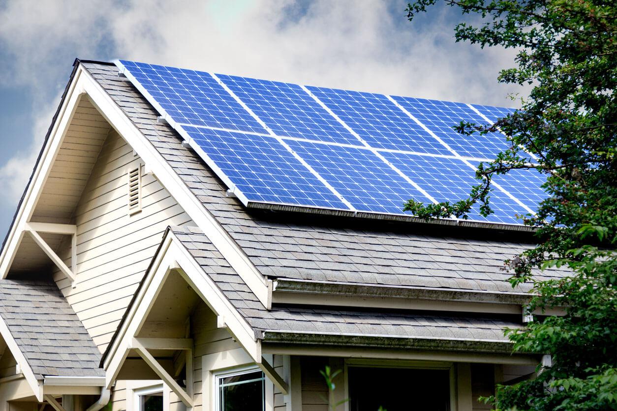 Solar-Panels home
